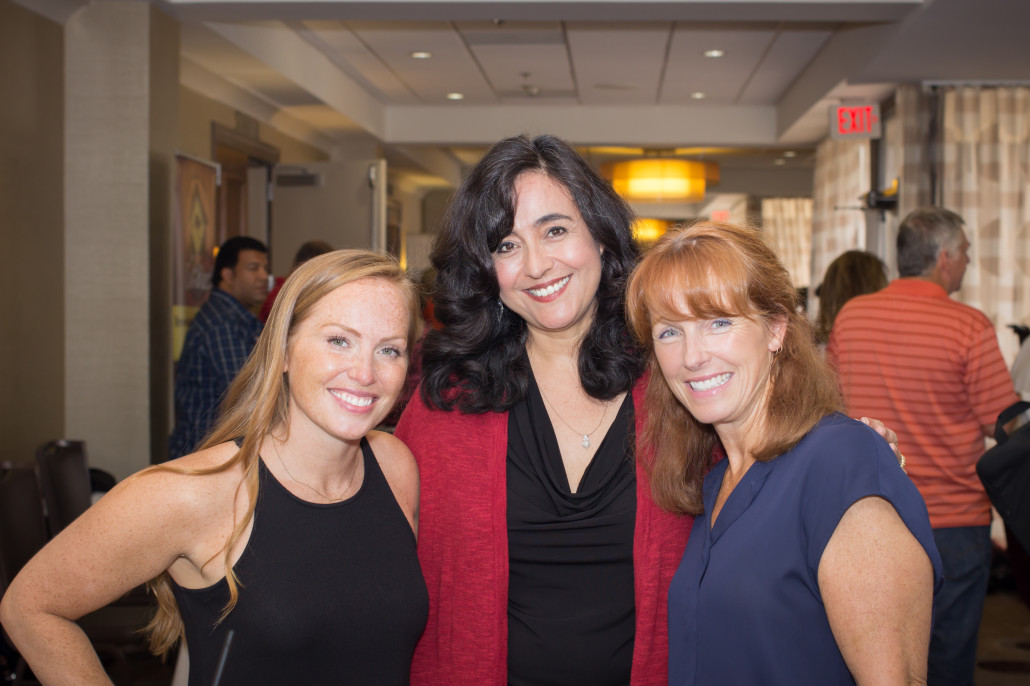 Linda Pliagas (center) with Mina Starsiak & Karen E. Laine from HGTV's GOOD BONES